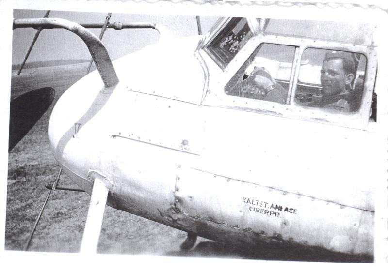 Foto z letiště Planá 1945